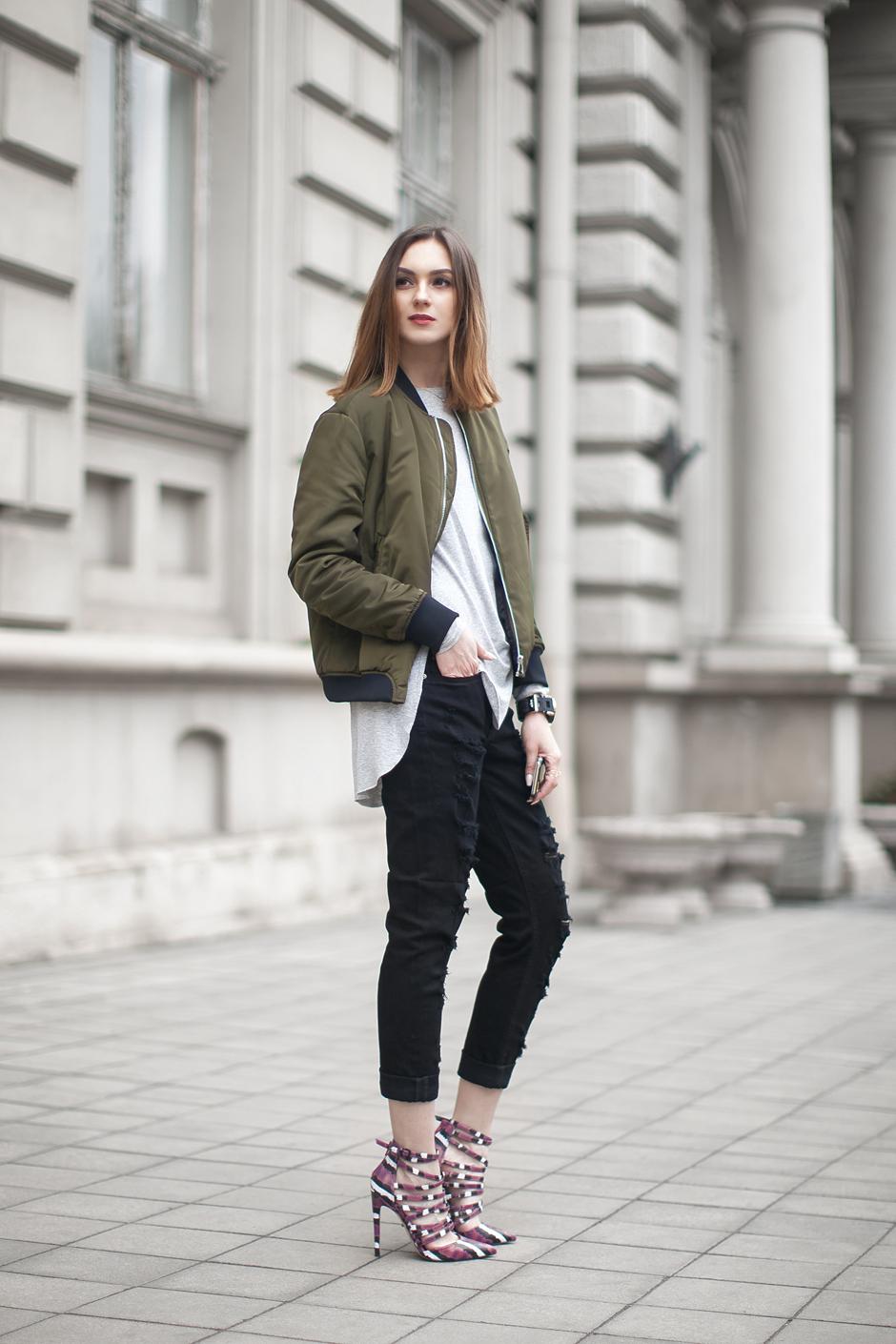 Bomber Jacket Ideas For Women inspiredluv (10)