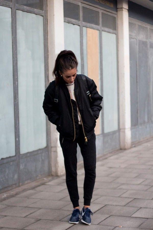Bomber Jacket Ideas For Women inspiredluv (11)