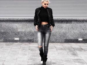 30 Amazing Bomber Jacket Ideas For Women