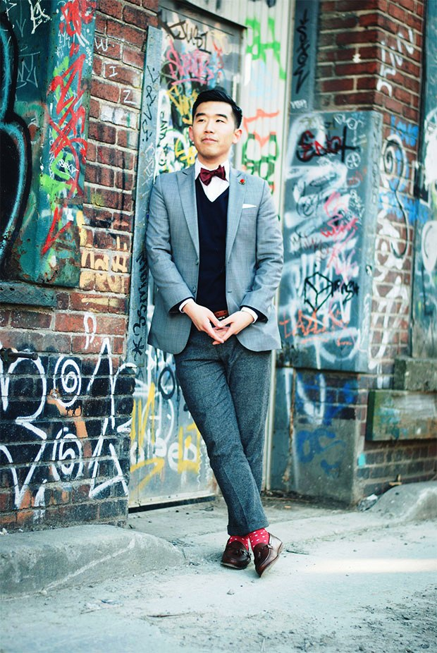 Bow Tie Fashion Ideas For Men inspiredluv (19)