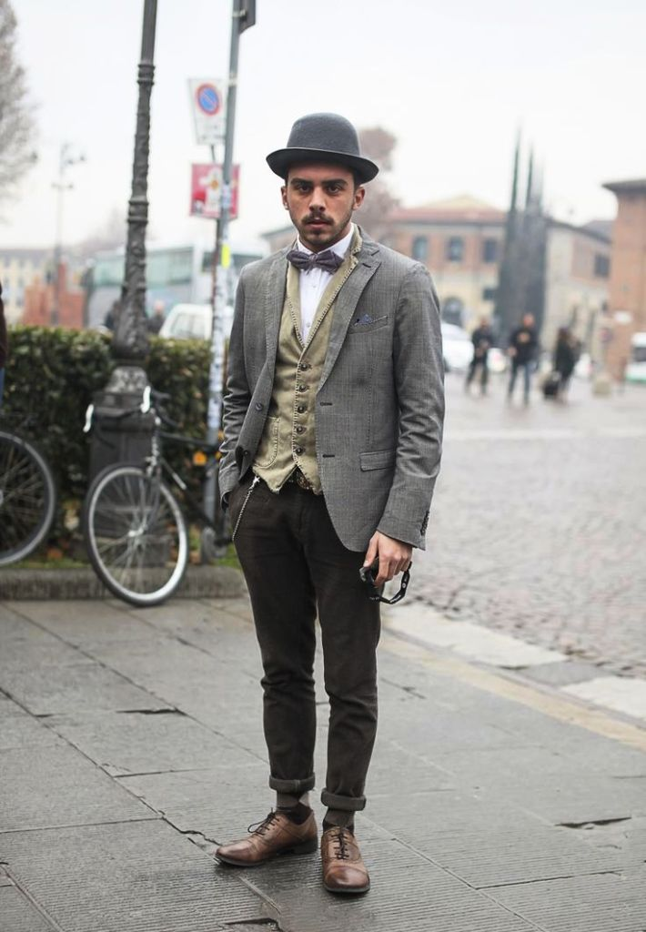 Bow Tie Fashion Ideas For Men inspiredluv (6)