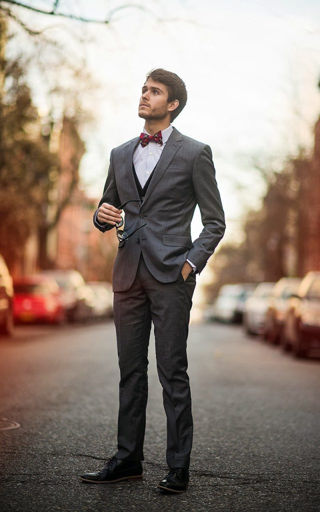 Bow Tie Fashion Ideas For Men inspiredluv (8)