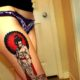 Japanese Geisha Tattoos Ideas inspiredluv (28)
