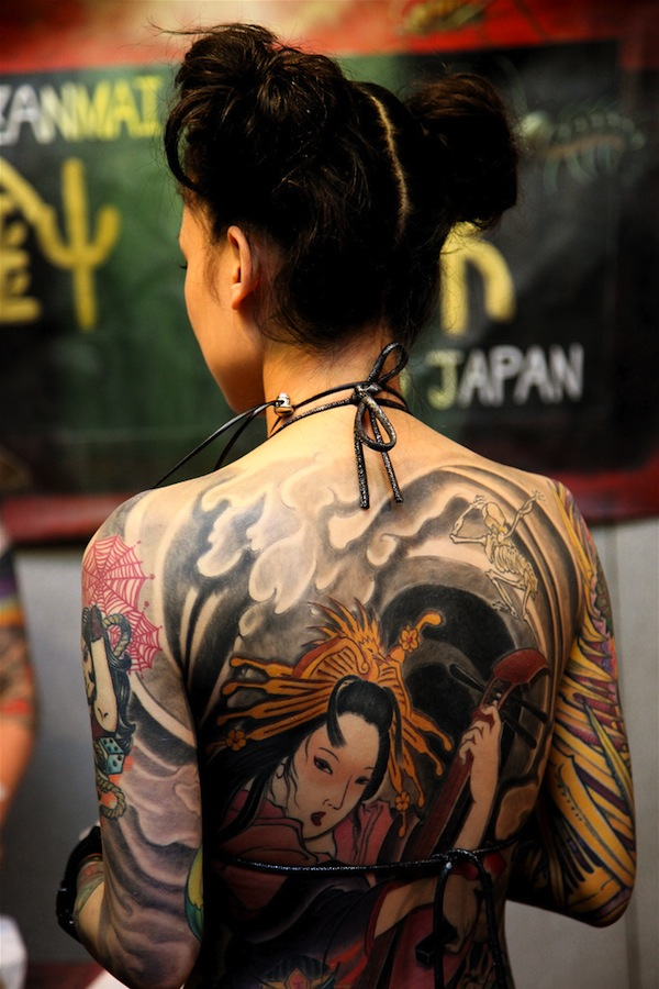 Japanese Geisha Tattoos Ideas inspiredluv (8)