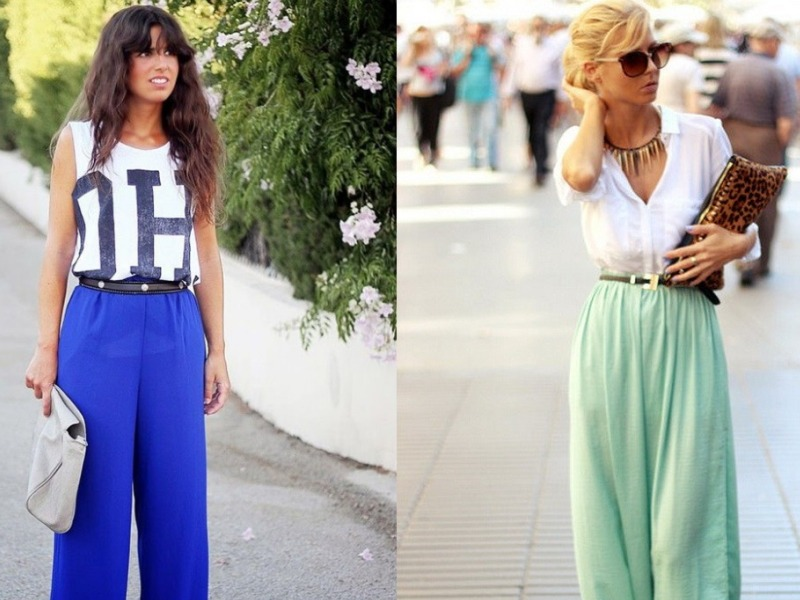 Palazzo Style Outfits