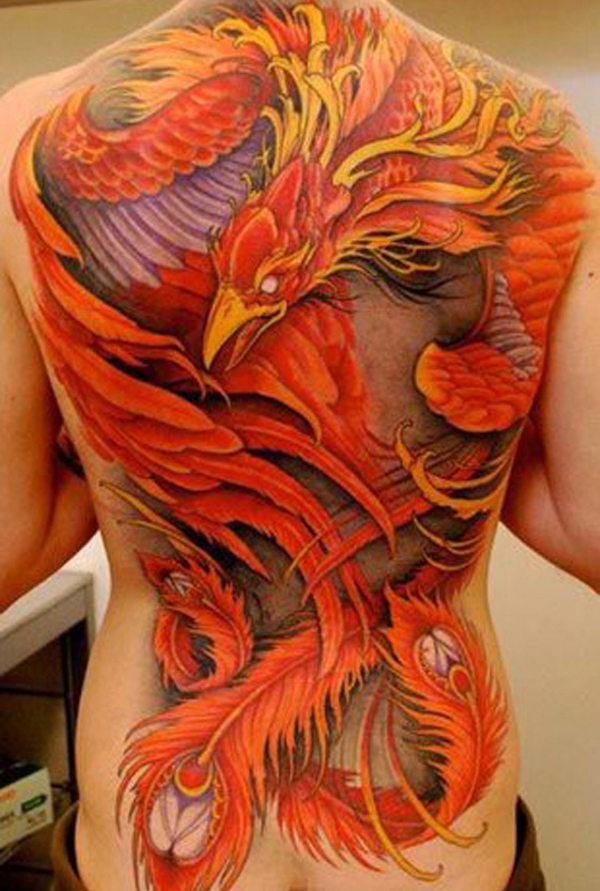 Phoenix Tattoo Ideas For Men And Women (12)