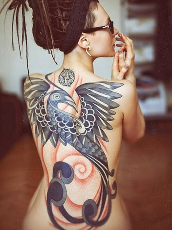 Phoenix Tattoo Ideas For Men And Women (17)