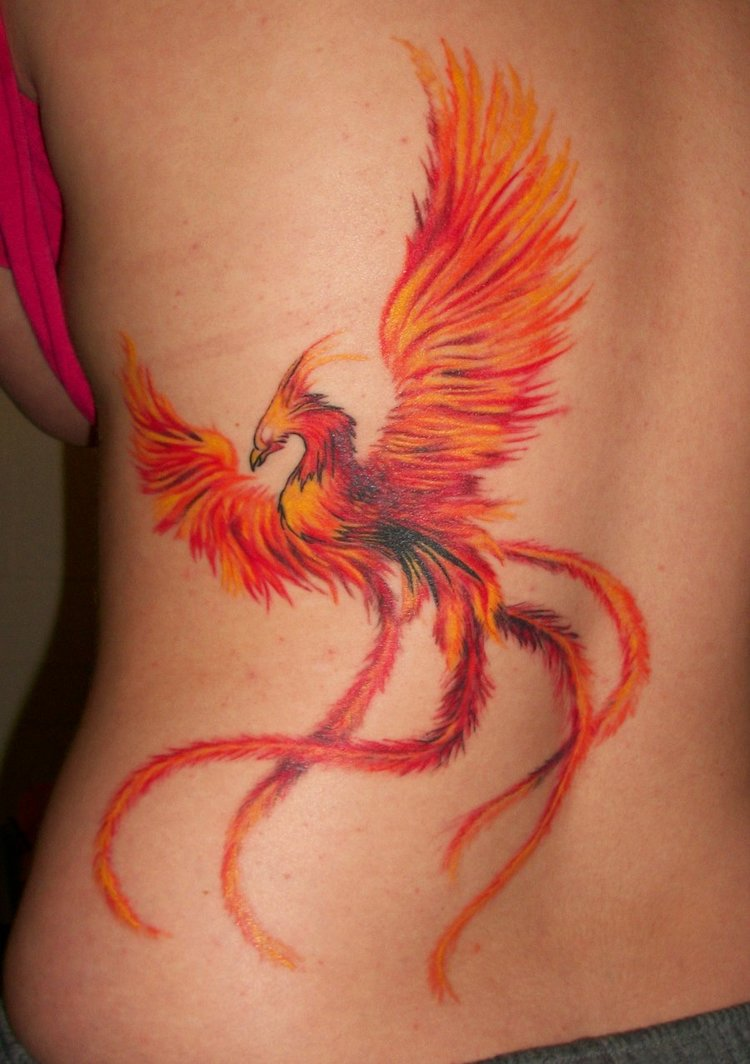 Phoenix Tattoo Ideas For Men And Women (19)