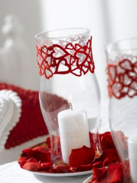 Red Valentine Home Decor Ideas inspiredluv (12)