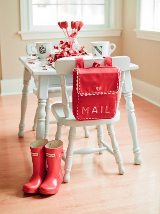 Red Valentine Home Decor Ideas inspiredluv (18)