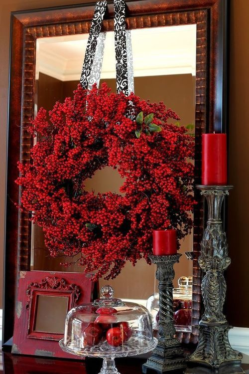 Red Valentine Home Decor Ideas inspiredluv (24)
