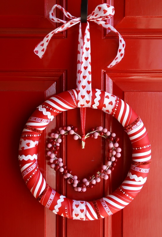 Red Valentine Home Decor Ideas inspiredluv (28)