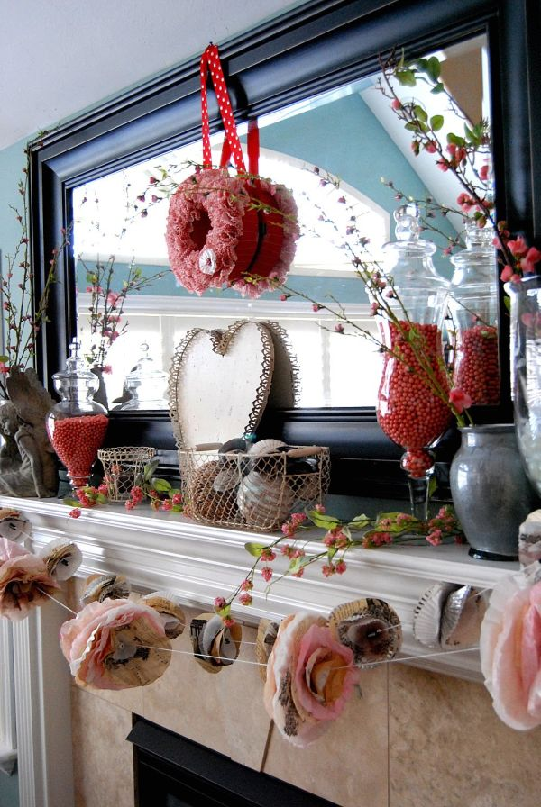 Red Valentine Home Decor Ideas inspiredluv (33)