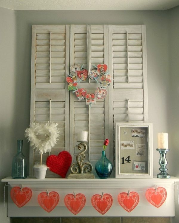 Red Valentine Home Decor Ideas inspiredluv (34)