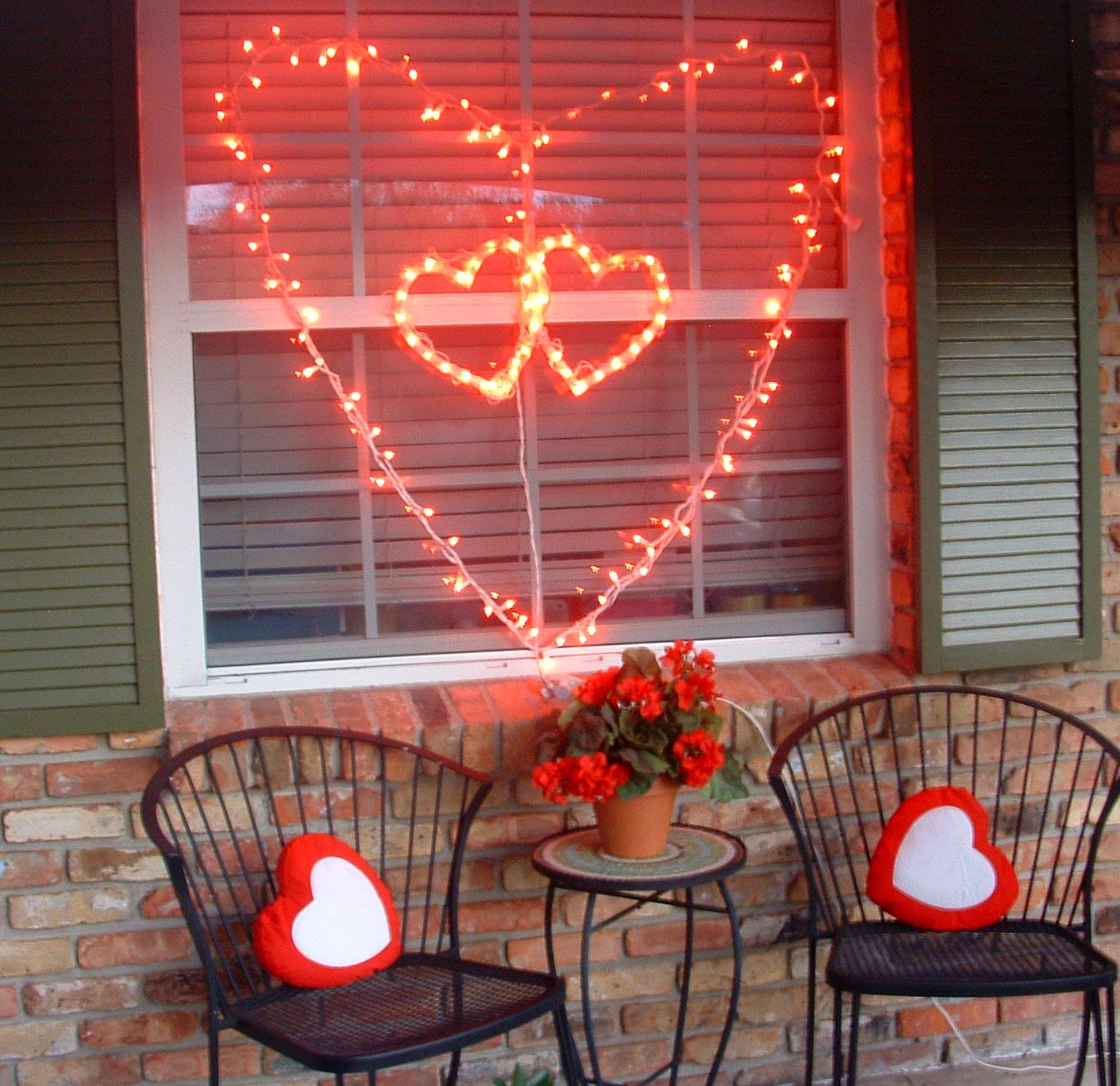 Red Valentine Home Decor Ideas inspiredluv (4)