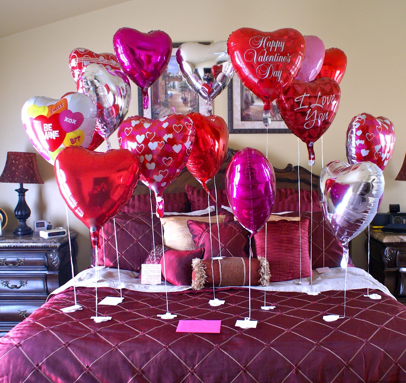 Red Valentine Home Decor Ideas inspiredluv (6)