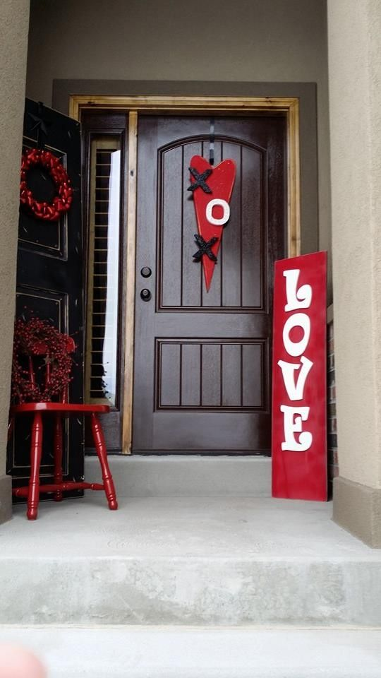 Red Valentine Home Decor Ideas inspiredluv (8)