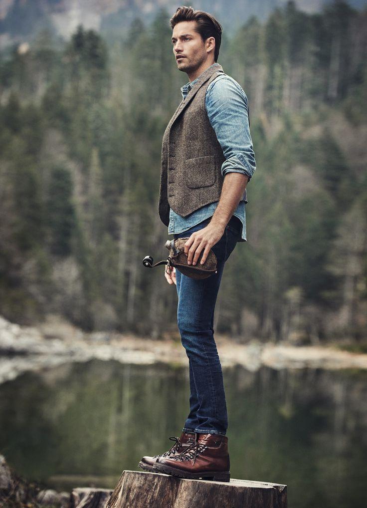 30 Amazing Rugged Men S Fashion Ideas