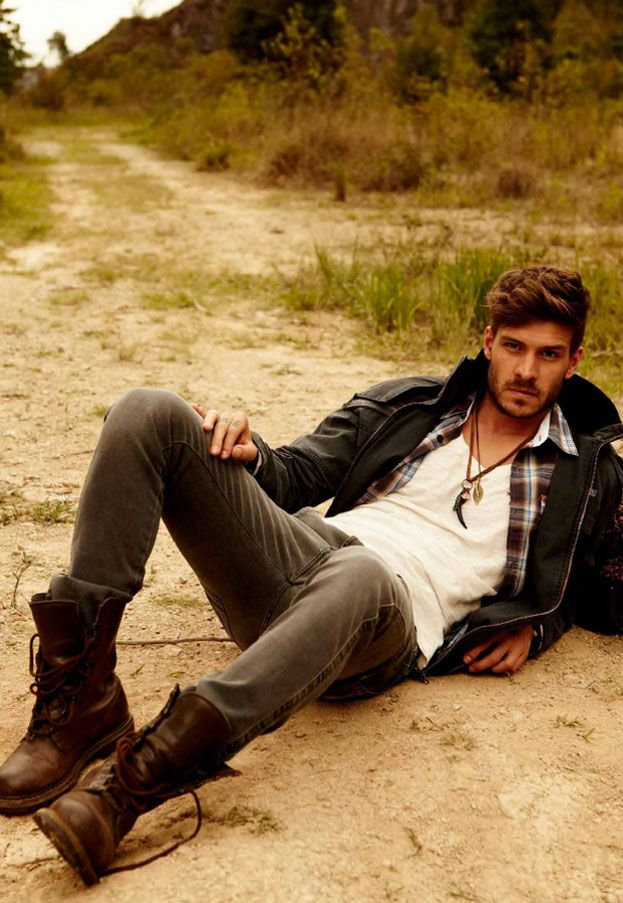 Rugged Men's Fashion Ideas inspiredluv (5)