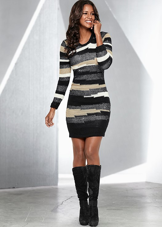 Sweater Dress Ideas For Women inspiredluv (1)
