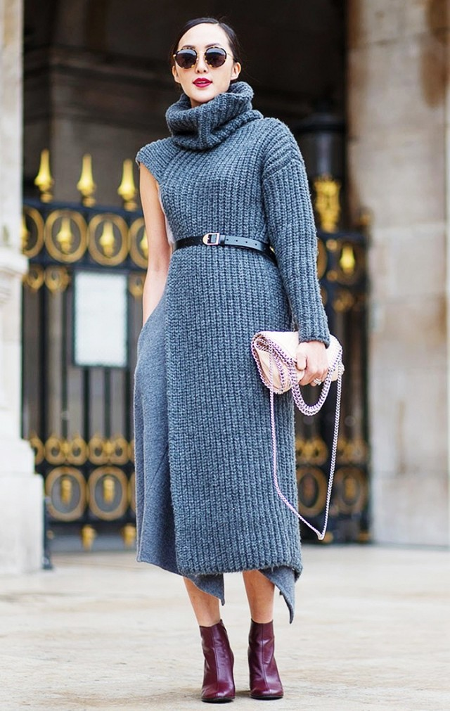 Sweater Dress Ideas For Women inspiredluv (10)