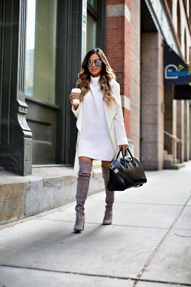 Sweater Dress Ideas For Women inspiredluv (11)