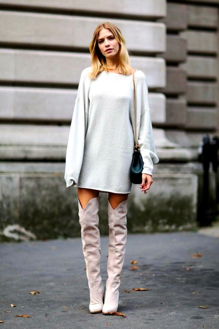 Sweater Dress Ideas For Women inspiredluv (13)