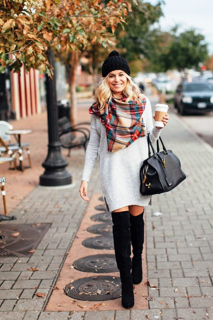 Sweater Dress Ideas For Women inspiredluv (14)