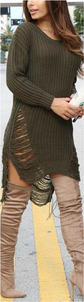 Sweater Dress Ideas For Women inspiredluv (2)