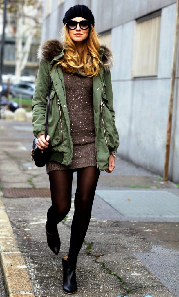 Sweater Dress Ideas For Women inspiredluv (20)