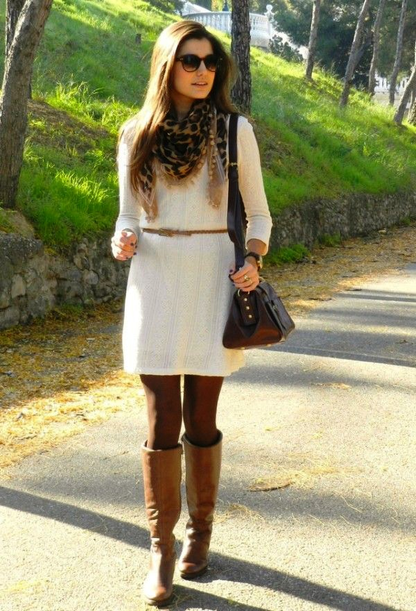 Sweater Dress Ideas For Women inspiredluv (21)