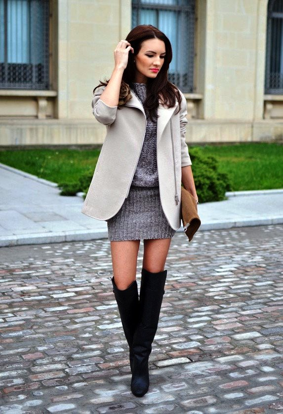 Sweater Dress Ideas For Women inspiredluv (22)