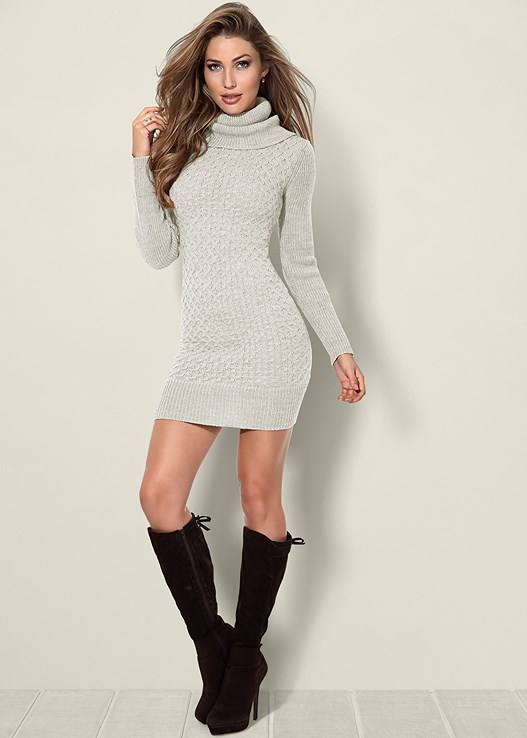 Sweater Dress Ideas For Women inspiredluv (7)