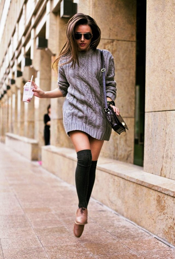 Sweater Dress Ideas For Women inspiredluv (8)