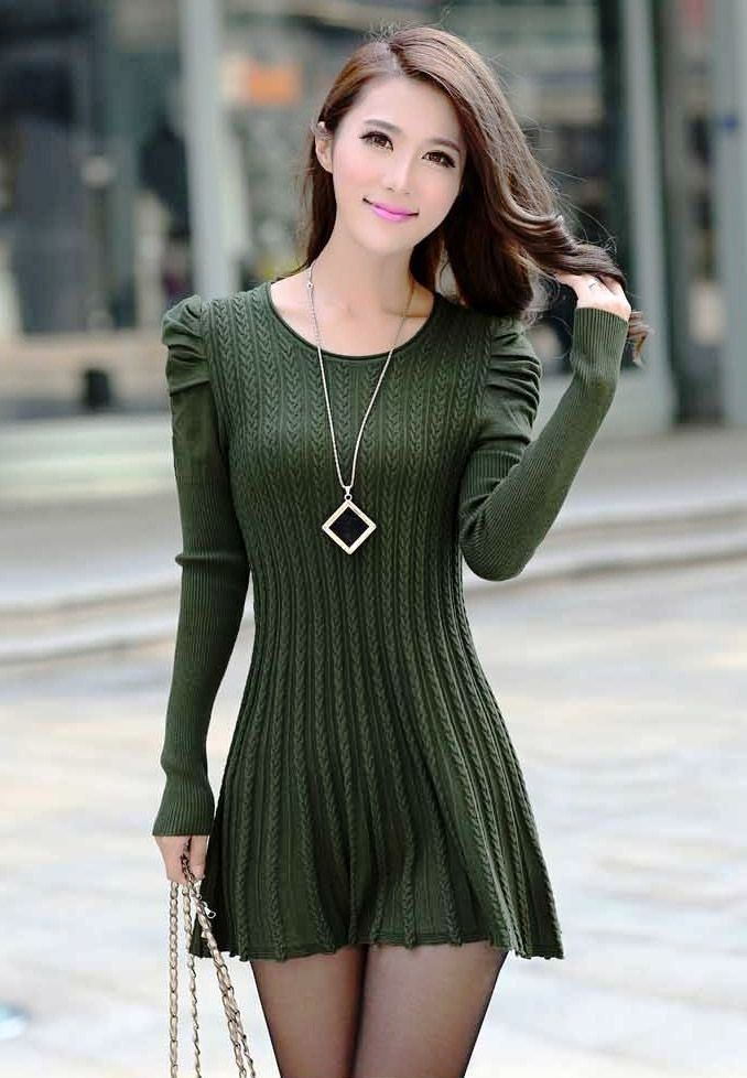 Sweater Dress Ideas For Women inspiredluv (9)