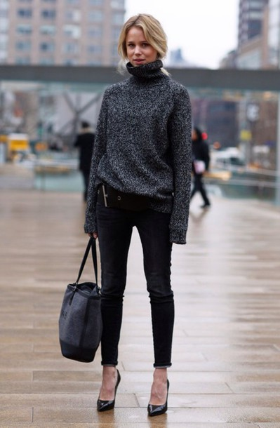 Awesome Sweater Style Outfit Ideas inspiredluv (11)
