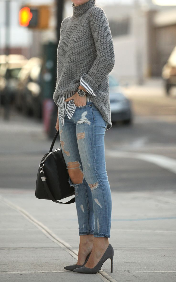 Awesome Sweater Style Outfit Ideas inspiredluv (15)