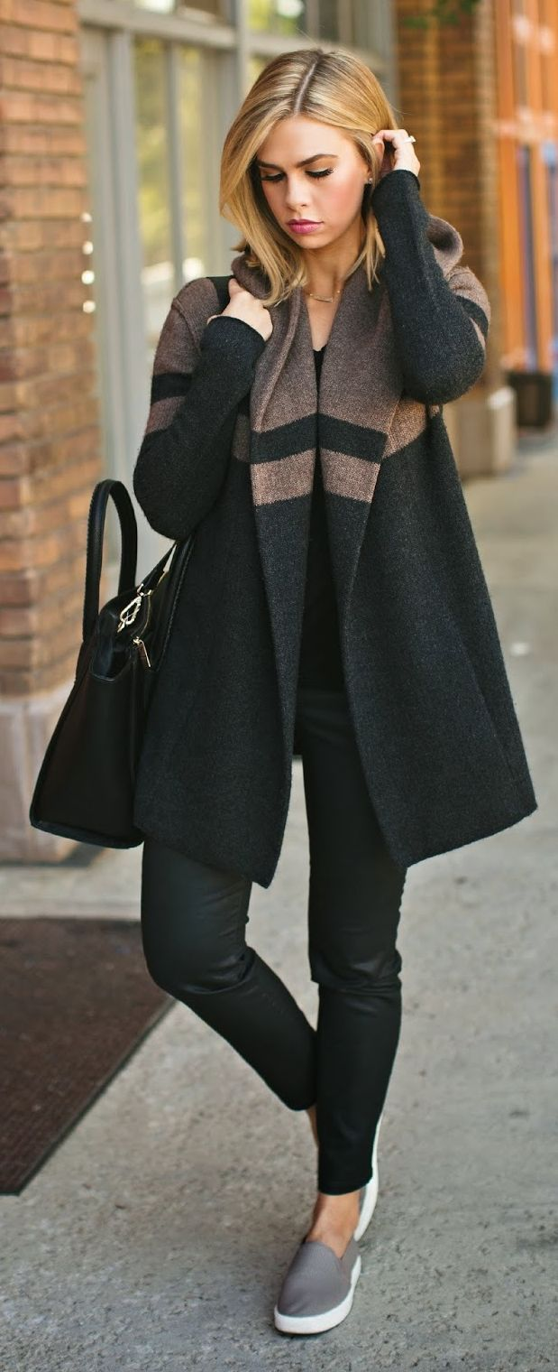 Awesome Sweater Style Outfit Ideas inspiredluv (21)
