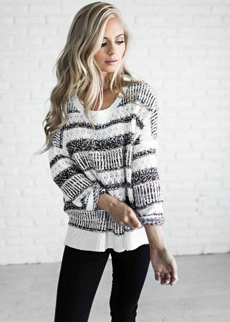 Awesome Sweater Style Outfit Ideas inspiredluv (25)