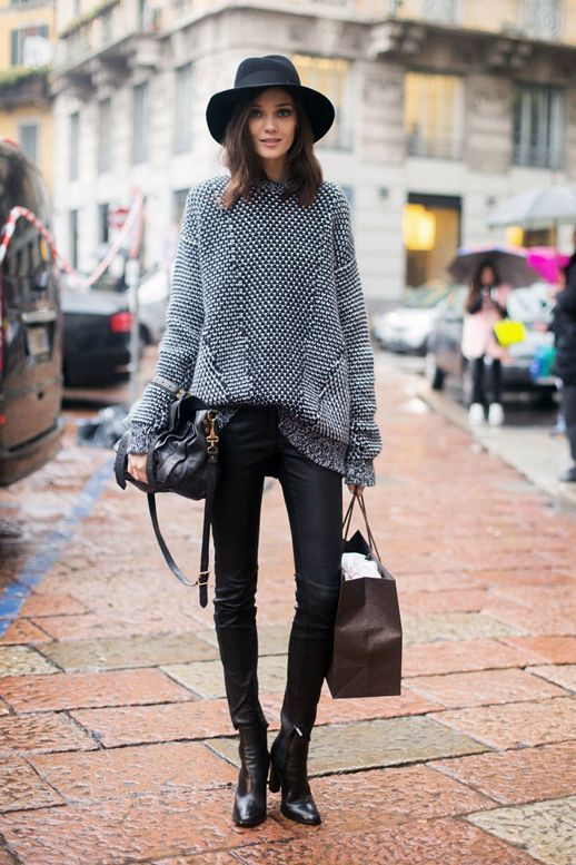 Awesome Sweater Style Outfit Ideas inspiredluv (8)