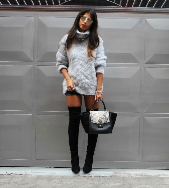 Awesome Sweater Style Outfit Ideas inspiredluv (9)