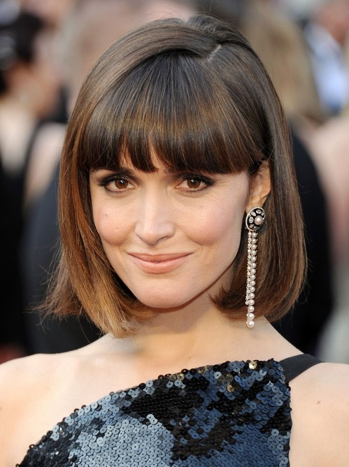 Bob Hairstyles With Bangs ispiredluv (10)