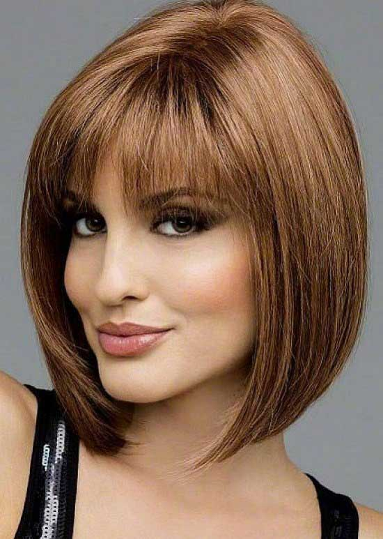 Bob Hairstyles With Bangs ispiredluv (13)