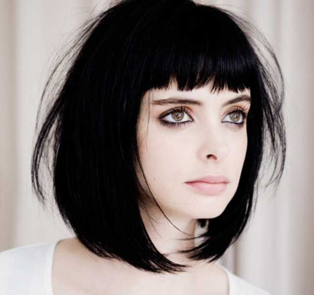 Bob Hairstyles With Bangs ispiredluv (17)