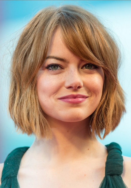 Bob Hairstyles With Bangs ispiredluv (19)