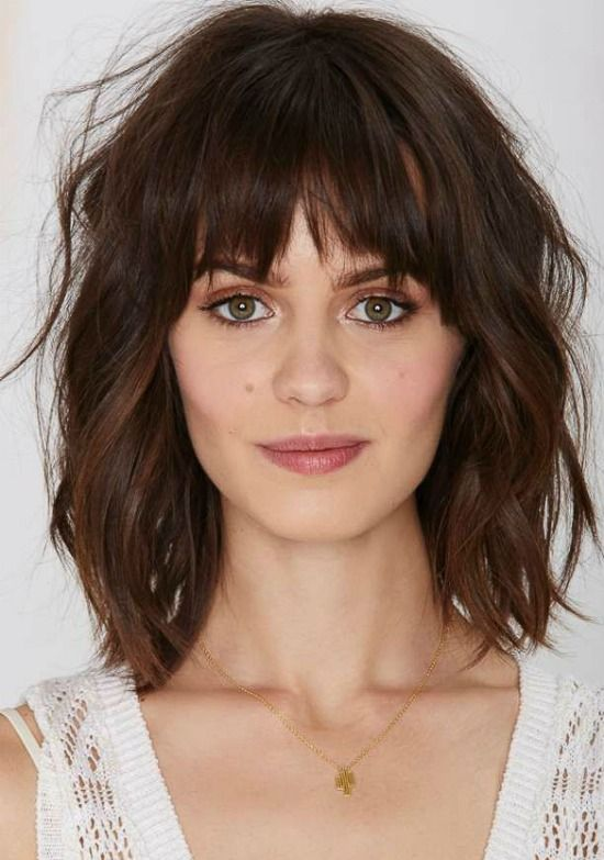Bob Hairstyles With Bangs ispiredluv (30)