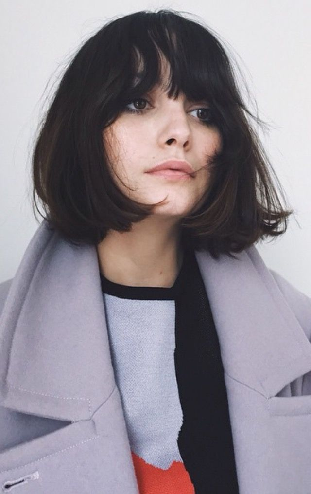 Bob Hairstyles With Bangs ispiredluv (32)