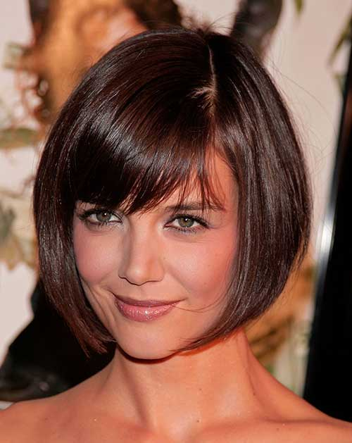 Bob Hairstyles With Bangs ispiredluv (4)
