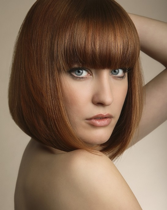 Bob Hairstyles With Bangs ispiredluv (5)