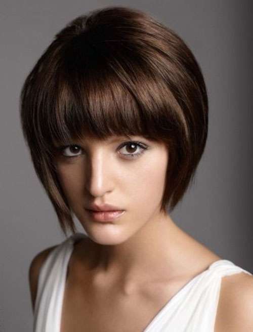 Bob Hairstyles With Bangs ispiredluv (7)